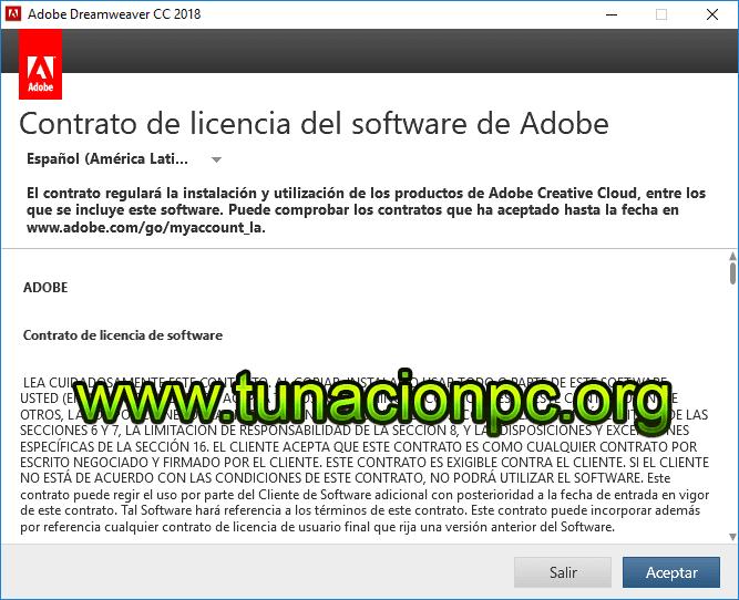 Descargar Adobe Dreamweaver CC 2018