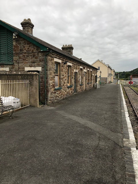 The former railway station, Bideford, Devon