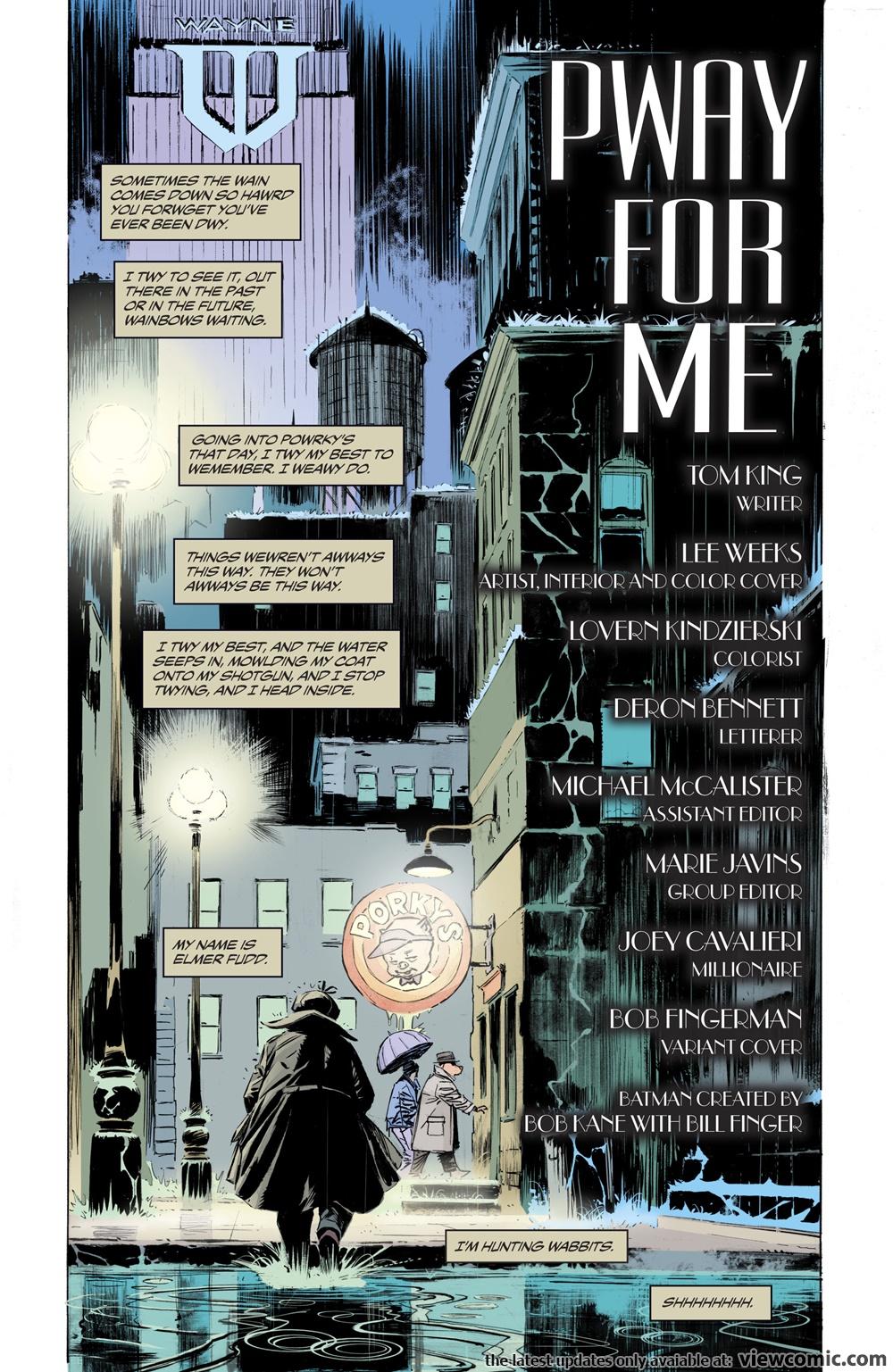 batman elmer fudd special 001 2017 reading comics online for free