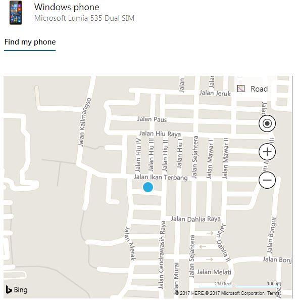 Mencari Lokasi Gadget yang Hilang dengan Mudah Melalui akun microsoft