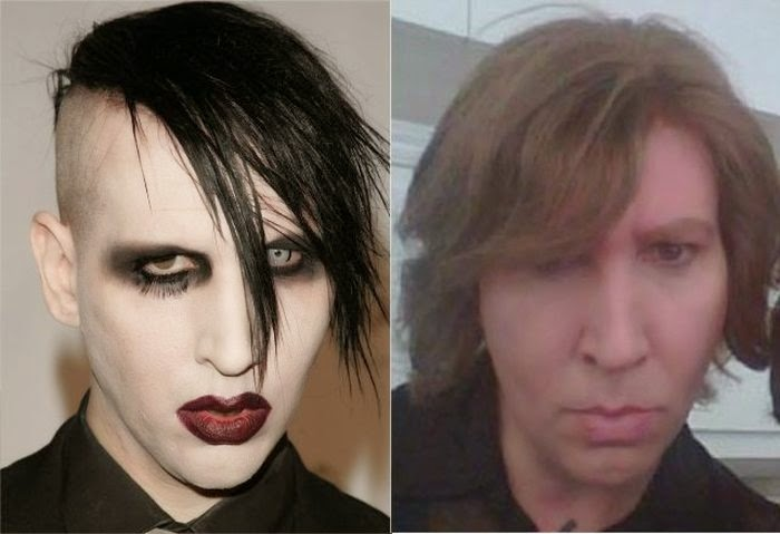 Insolite Stars Marilyn Manson Sans Maquillage People Buzz
