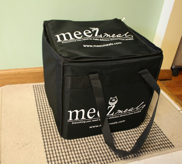 Meez Meals reusable cooler