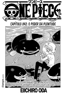 One Piece 842 Mangá – Português