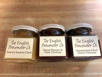 English Provender Chutneys in cute jars