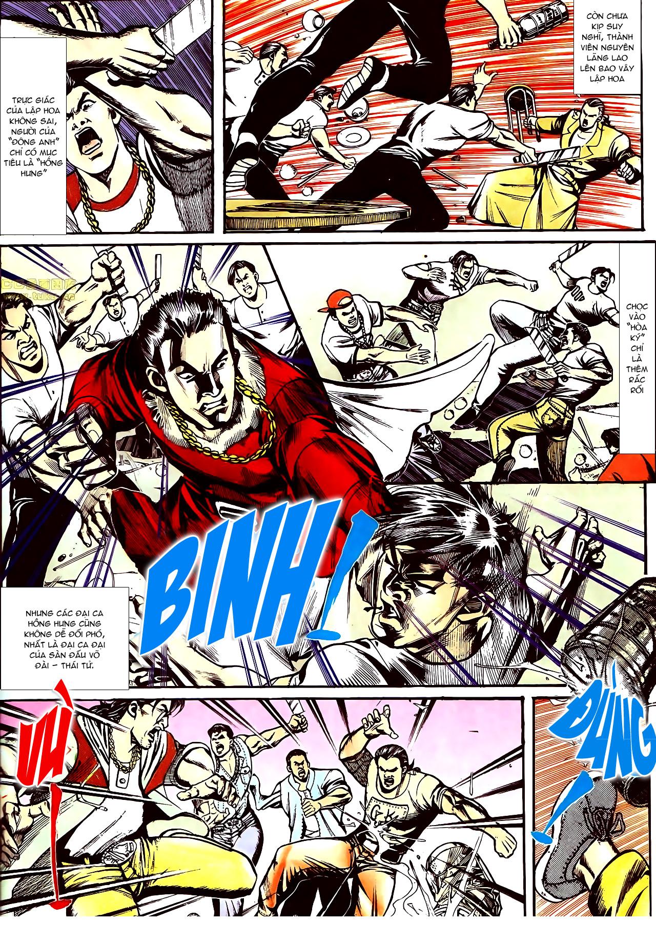 Người Trong Giang Hồ chapter 160: chém đại phi trang 8