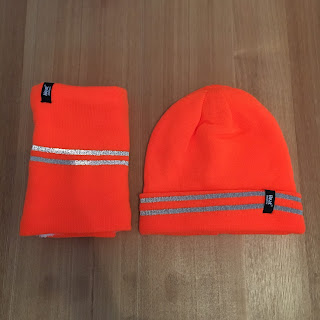 Heat Holders High Visibility Thermal Hat and Neck Warmer