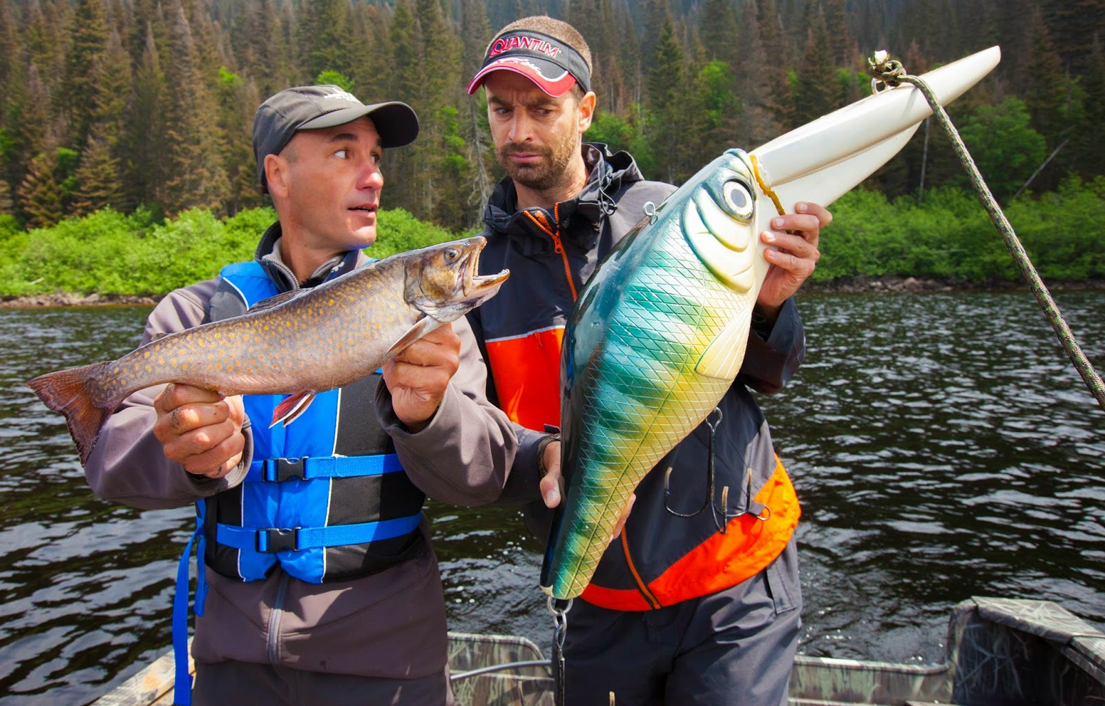 Québec à vol d'oiseau, lecamp.tv, José Boily, pêche au Québec, pêche Côte-Nord