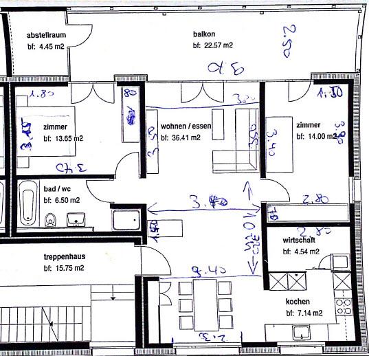 moderne m bilierte 3 5 og zimmerwohnung in schaanwald zu. Black Bedroom Furniture Sets. Home Design Ideas