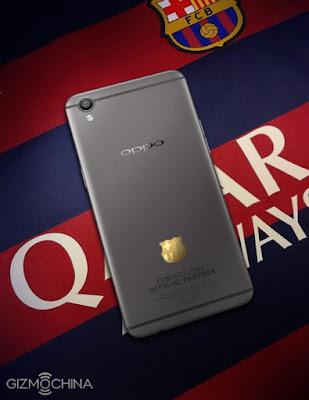 Oppo R9 Pamerkan R9 FC Barcelona Edition