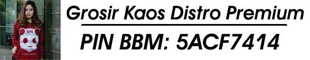 GROSIR KAOS DISTRO PREMIUM ORIGINAL IDR 420/Lusin
