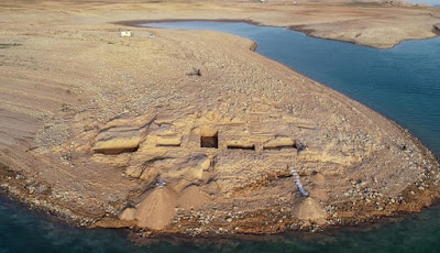 Reruntuhan Istana Yang Lama Hilang Ditemukan Di Irak