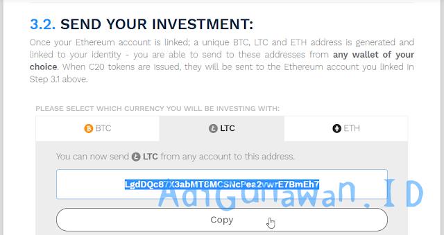 Pemahaman Sistem Investasi ICO di Crypto20