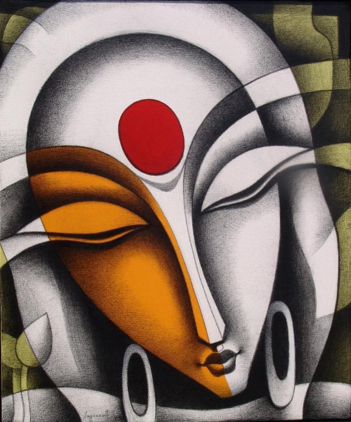 Индийский художник. Jagannath Paul