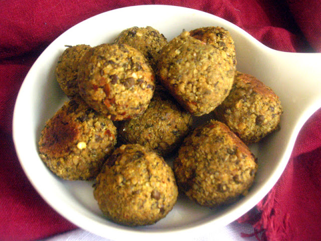 Urad Bean and Quinoa Kofta