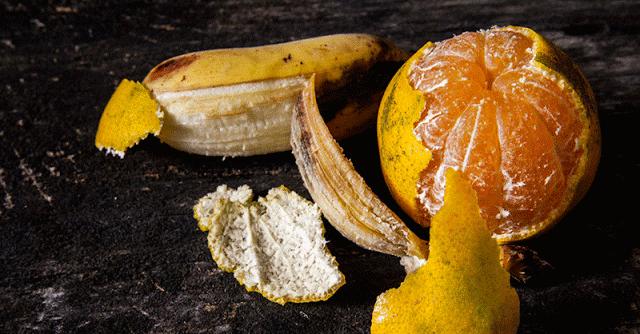 cojile de portocale si banane contin foarte multi nutrienti importanti