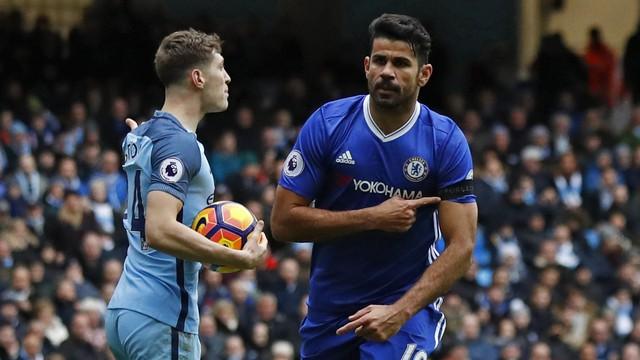 Manchester é azul, azul de Londres