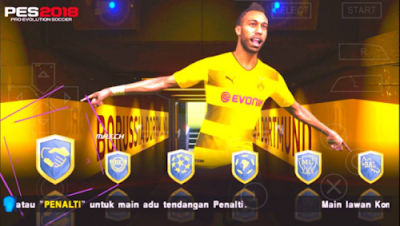 Download Game PES 2018 PPSSPP Android