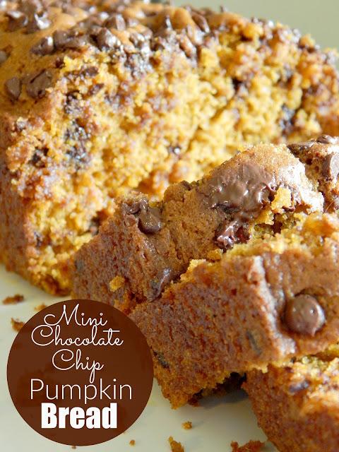 mini chocolate chip pumpkin bread (sweetandsavoryfood.com)