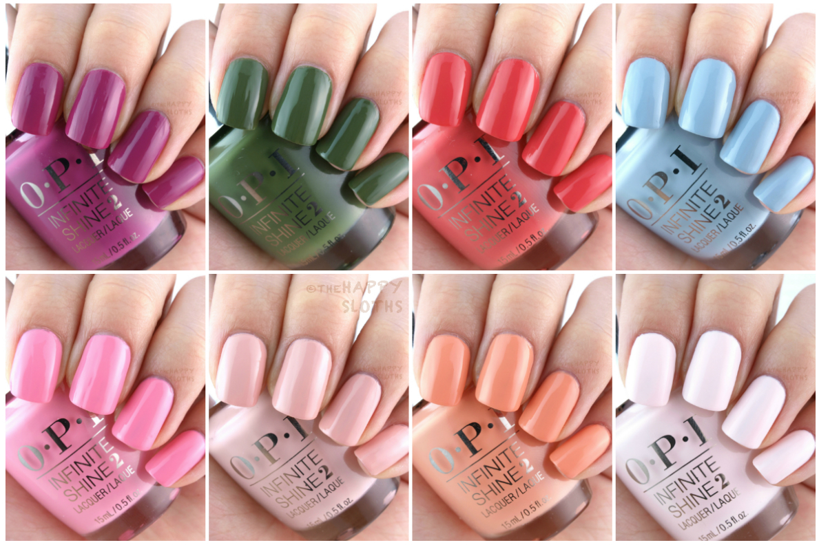 OPI Infinite Shine Spring 2016 Collection: Review and Swatches | The ...