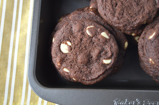 Chocolate Pudding White Chocolate Chip Cookies