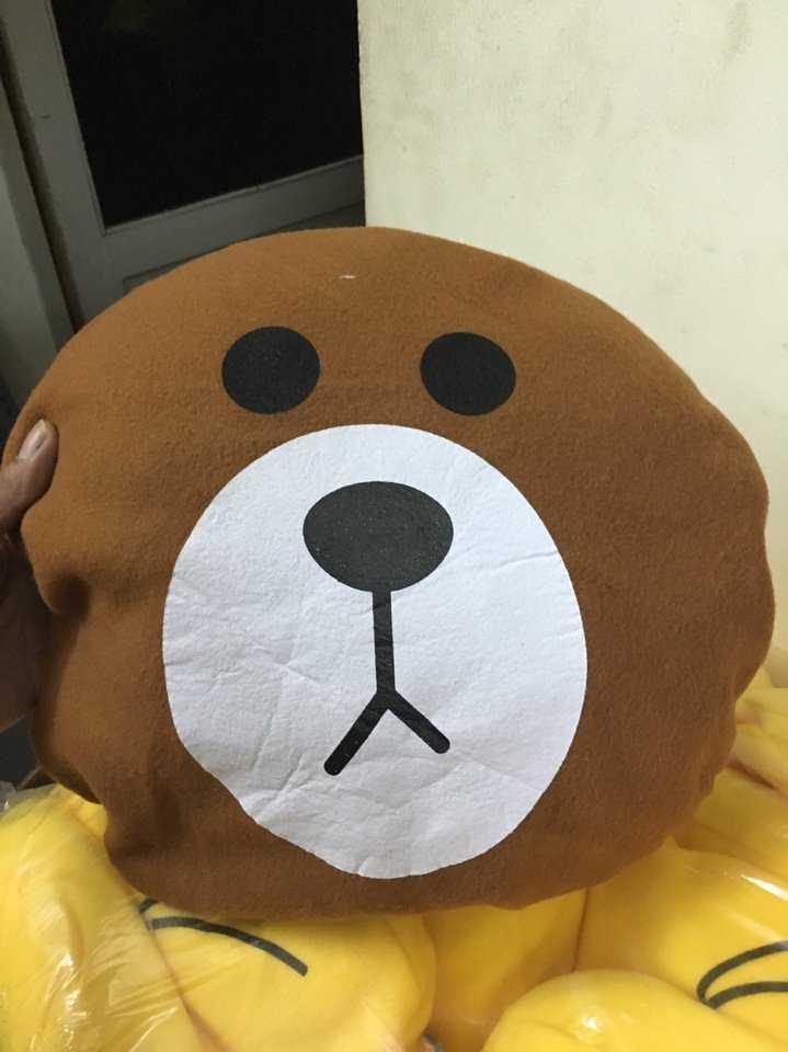 Gối hình Gấu nâu giá rẻ