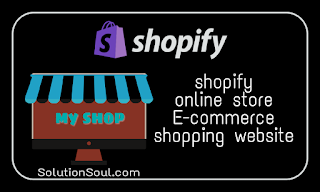 Create online store on shopify