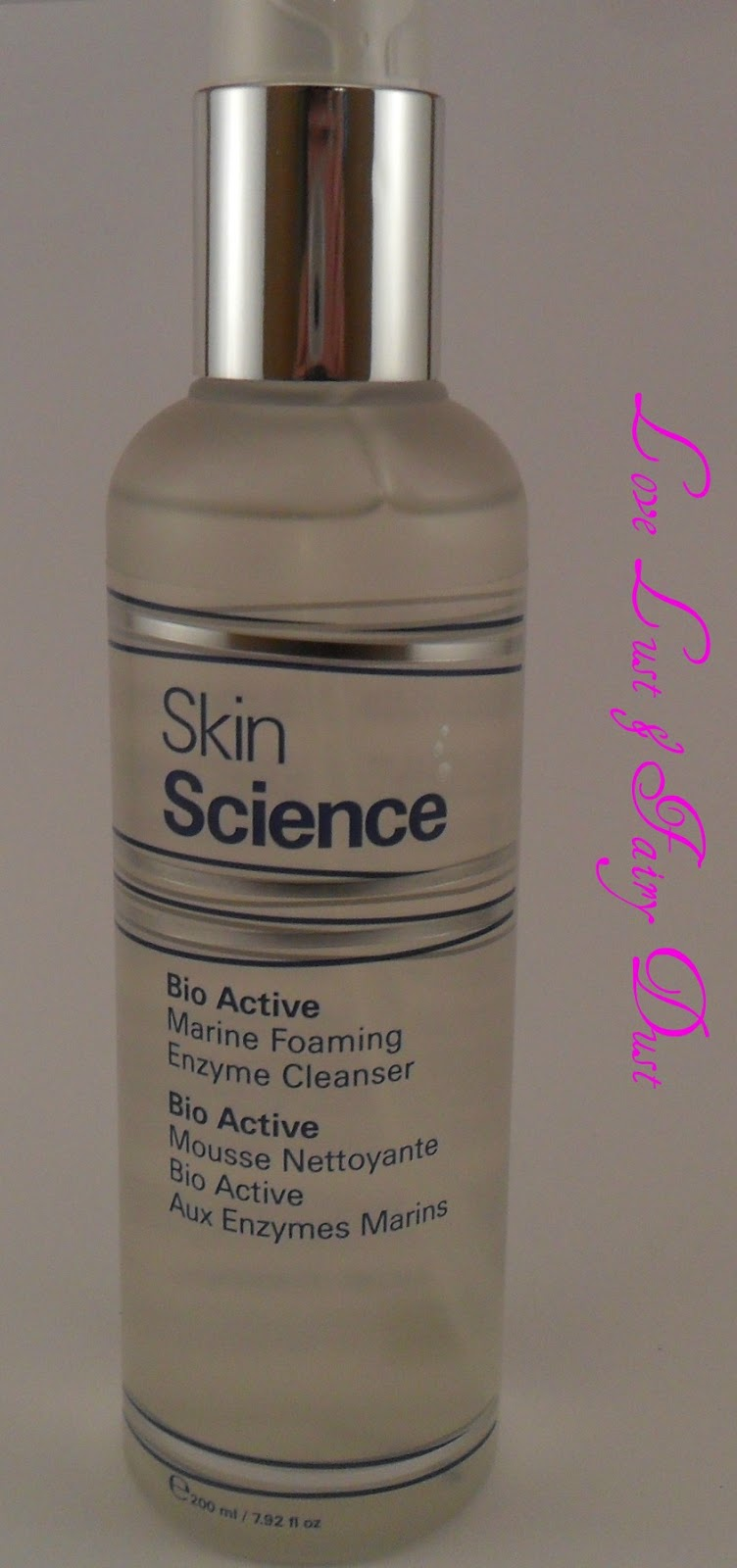 review of skin science bio active marine foaming enzyme cleanser
