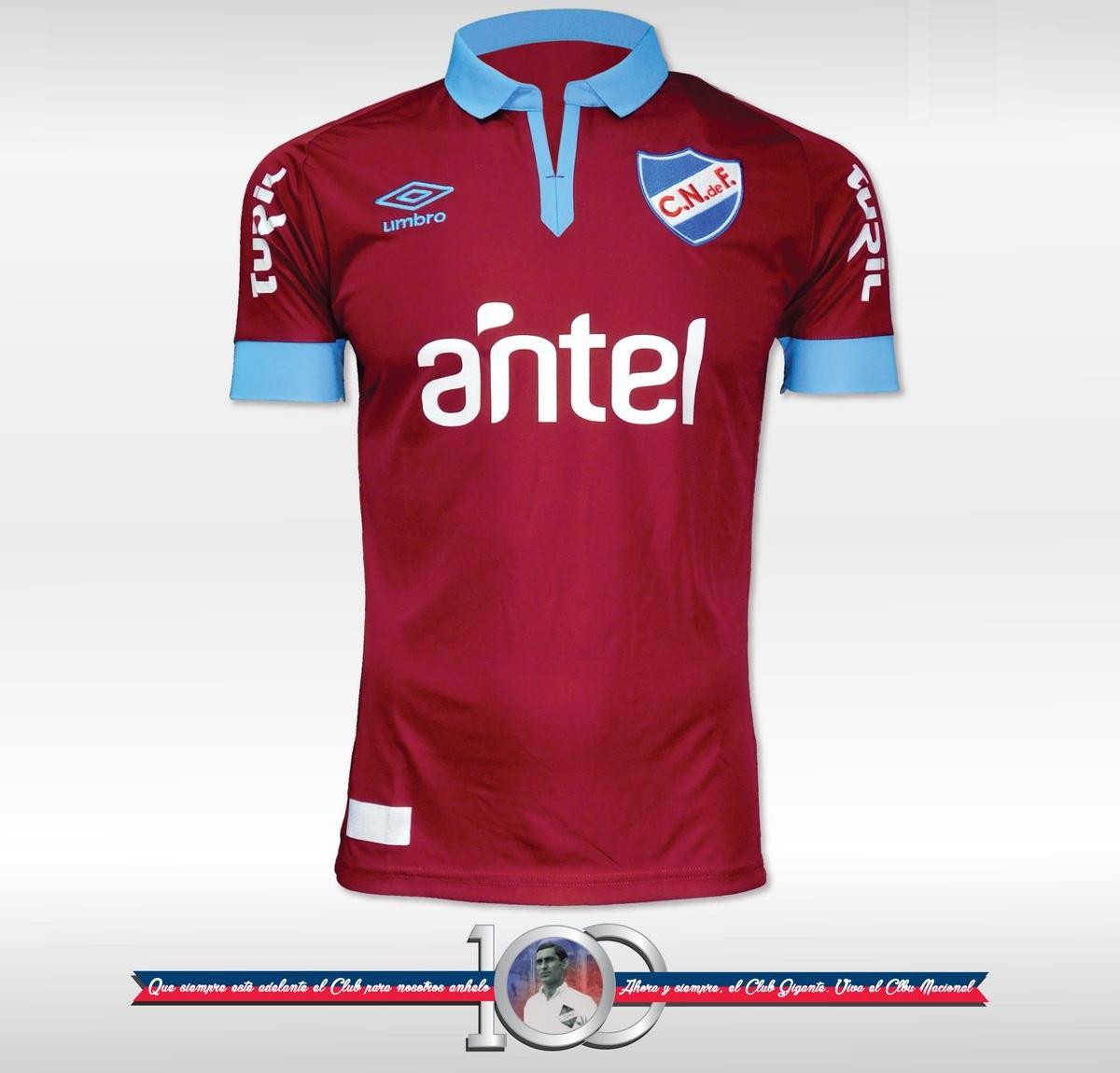 cd8ae89c6f Umbro divulga camisa especial do Nacional do Uruguai - Show de Camisas