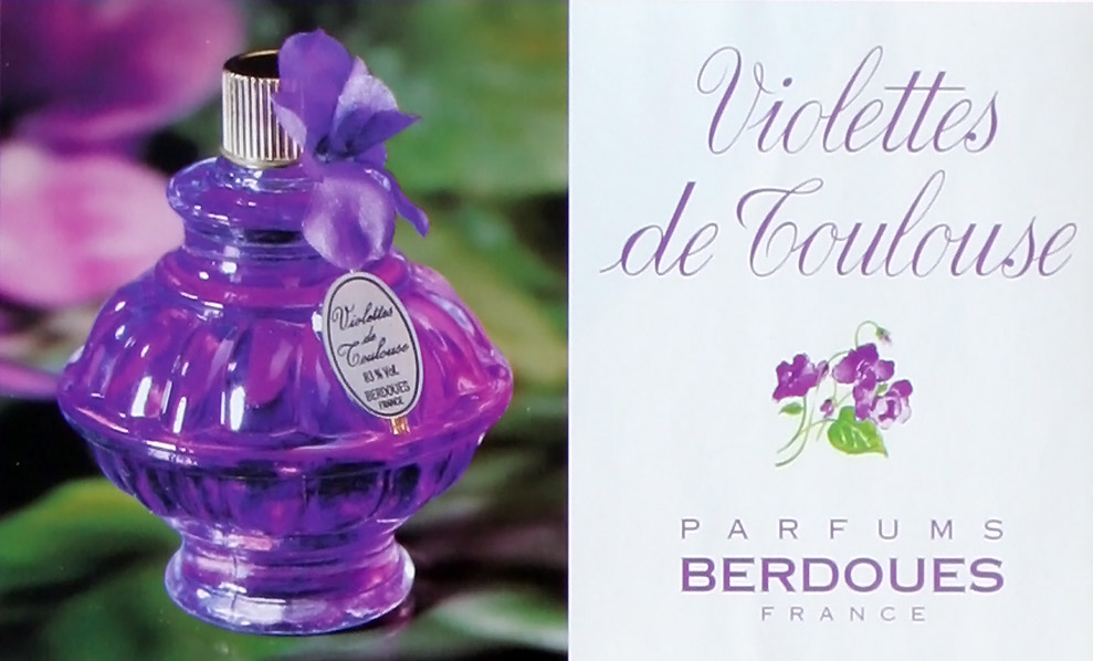 Scent Of A Woman Violettes De Toulouse Eau De Toilette Parfums