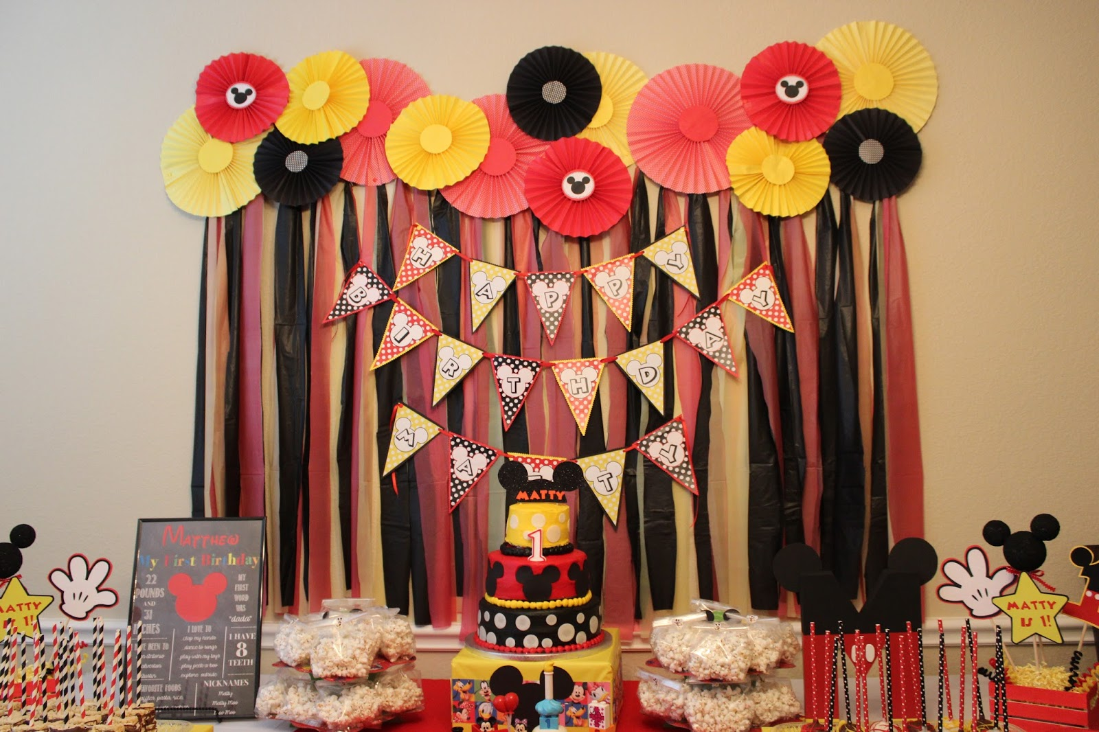 Diy Backdrop Stand For Dessert Table Domesticated Diva Mickey Mouse Clubhouse Diy Party Ideas