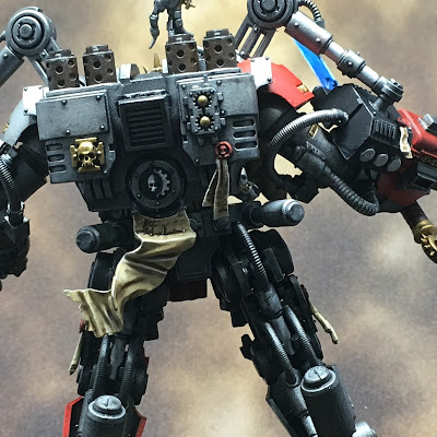 Grand Master in DreadKnight Armor rear close-up