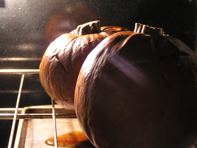 baking whole pumpkins