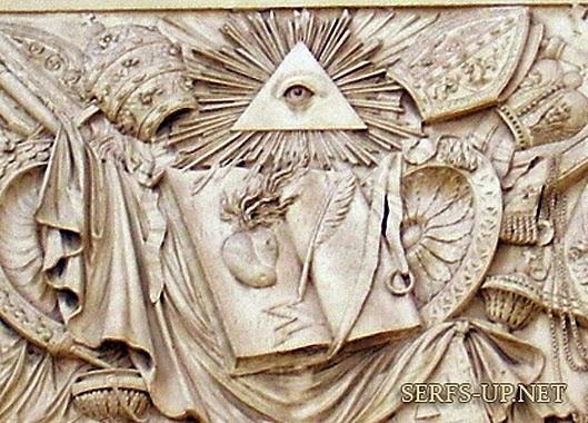 5 Organisasi Rahasia Paling Berbahaya di Dunia,all seing one eye