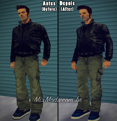 Claude convertido do Xbox para GTA 3