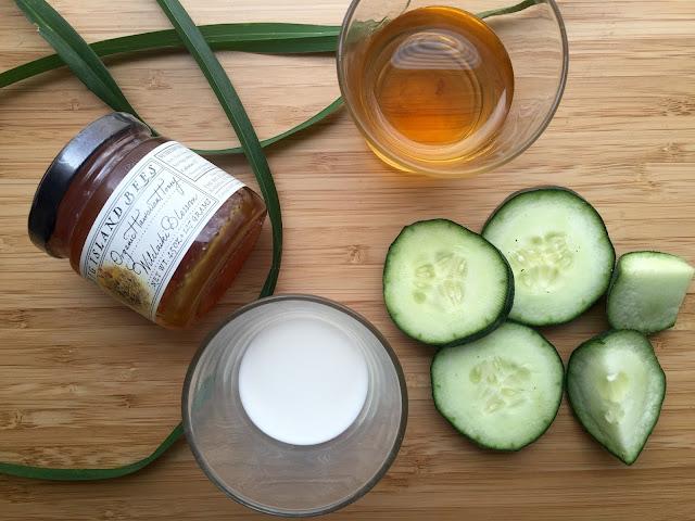 FullSizeRender 6 - DIY Summer Splash Cucumber Mask
