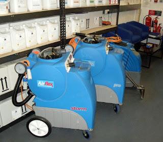 Walk-Behind Carpet Cleaning Machines