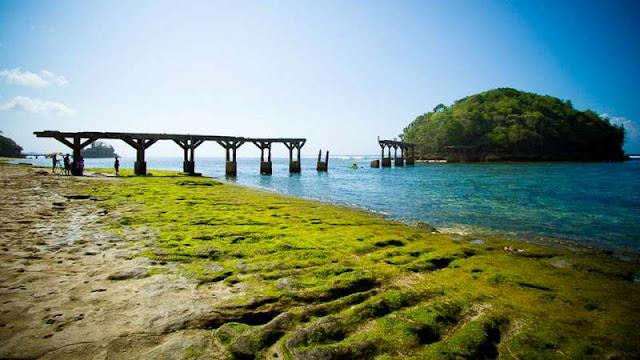 pantai jembatan panjang
