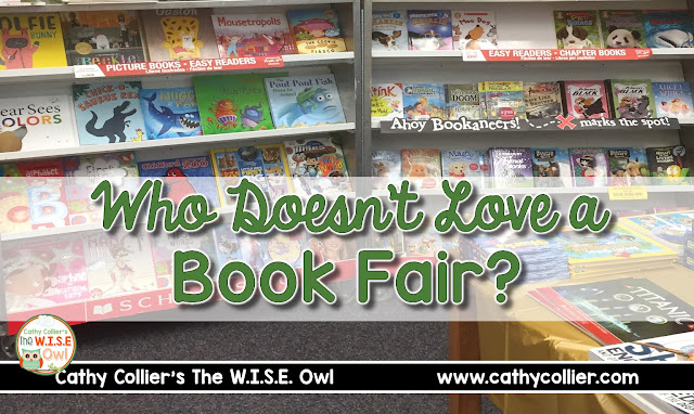 Who doesn't love a BOOK FAIR? It's a great place to get new books and get books into the home libraries of our students. Here are a few new books.