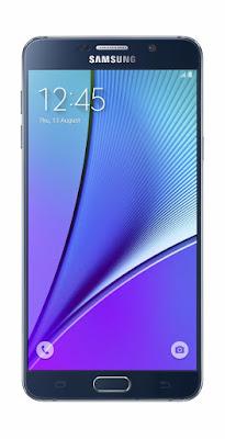 Samsung Galaxy Note 5 - Black Sapphire