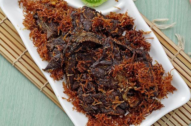 Resep Paru Goreng Ala Rumah Makan Padang