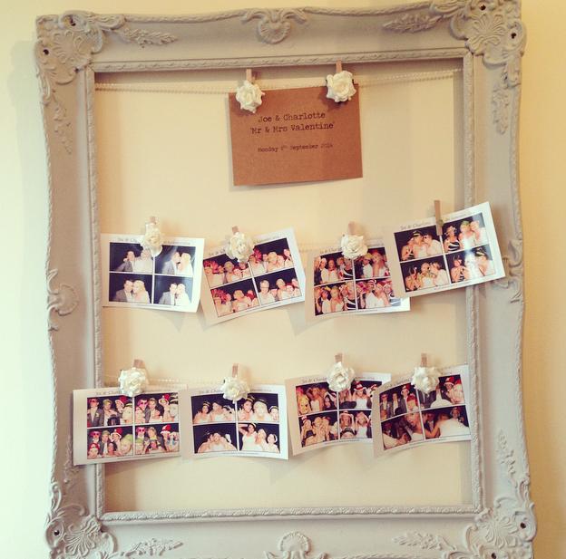 DIY Wedding Seating Plan / Photo Frame Tutorial - The Home ...