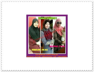 Set Slimming, Herb-Lax, Lecithin, Omega Guard, Alfalfa, Cinch Tea Mix, Cinch Shake Mix, ESP, Testimoni, Produk SHAKLEE, Independent SHAKLEE Distributor, Pengedar S