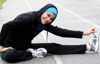 Hijab Instan Untuk Olahraga