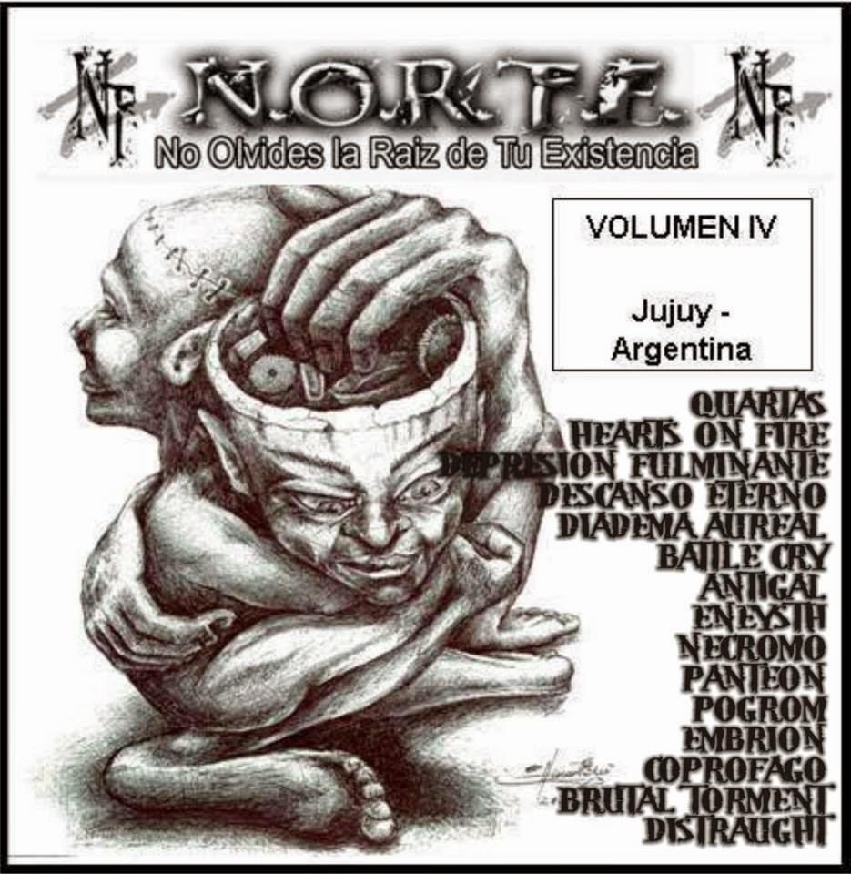 Metal Brutal Argentino Total Noise Records Tshirt Proud To Post It Pulp Fiction Short Black Hitam Xxl 2012 Norte Video Comp Vol 4 2 Clips