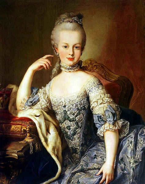 Marie Antoinette by Martin van Meytens, 1767
