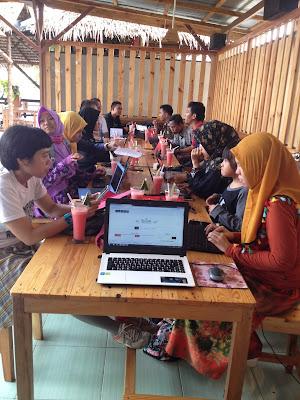 belajar blog bersama blogger bengkulu