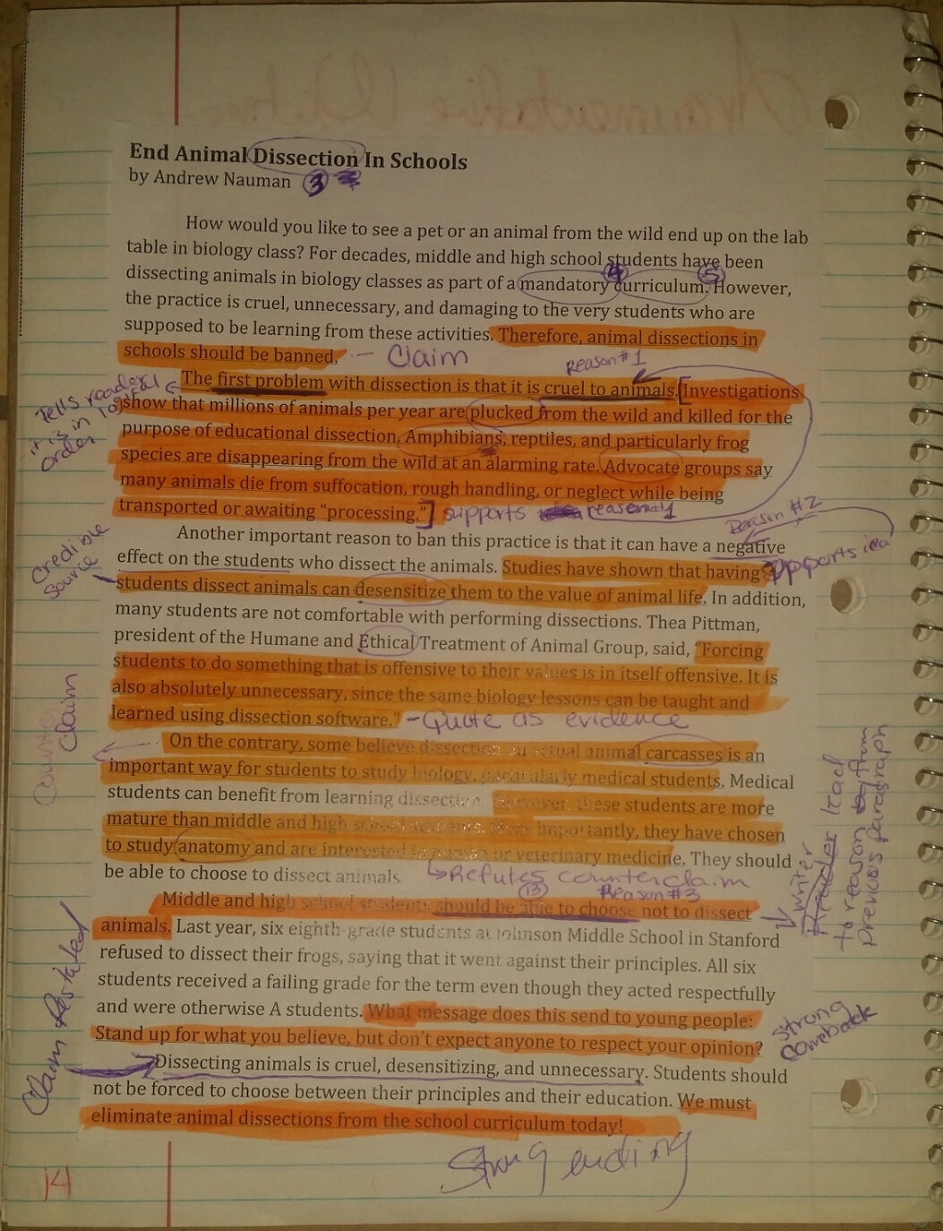 How to Write an Opposing Viewpoint Essay