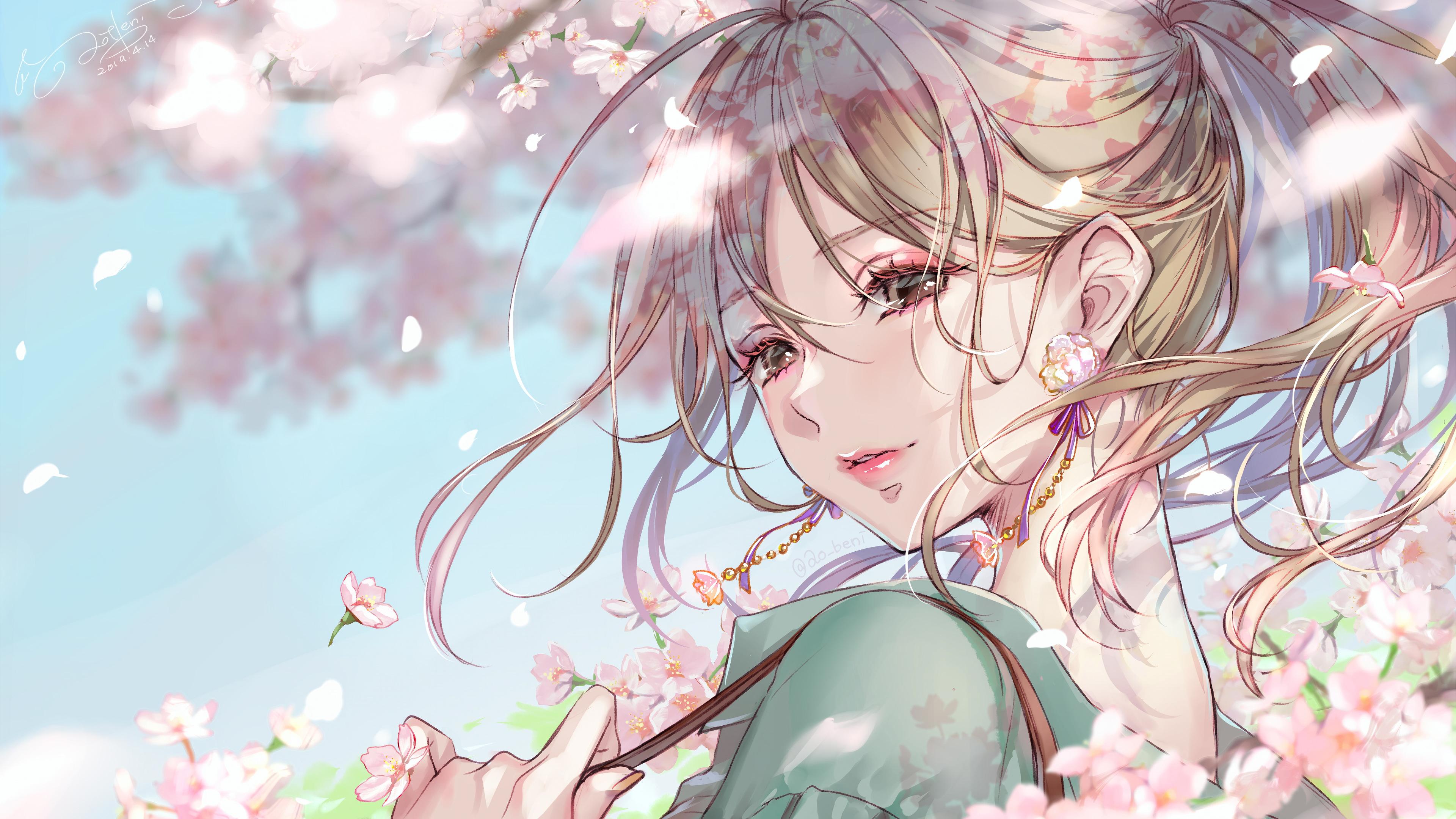 Beautiful Anime Girl 4k Wallpaper 162