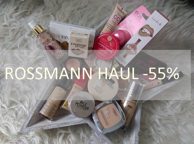 ROSSMANN HAUL - 55 % NA KOLORÓWKĘ
