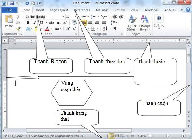 [Tin học văn phòng đầy đủ] GIỚI THIỆU VỀ MICROSOFT WORD